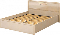 Каркас кровати Ижмебель Милан 5 К-1 160 (сахара /сахара накладной профиль) -