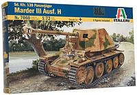 Сборная модель Italeri Немецкий истребитель танков Panzerjäger Marder III Ausf. H 1:72 (7060) -