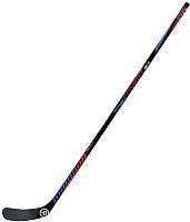 Клюшка хоккейная Warrior Covert Qre3 Grip 75 / QRE375G8-LFT (черный/красный) -