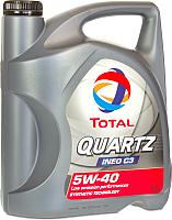 Моторное масло Total Quartz Ineo C3 5W40 / 213103 (5л) -