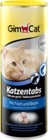 Кормовая добавка для животных GimCat Cat Tabs с рыбой / 409146 (425г) -
