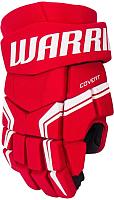 Перчатки хоккейные Warrior Covert Qre5 / Q5GSR8-RD11 (красный/белый/черный) -
