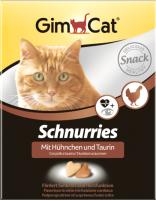 Кормовая добавка для животных GimCat С таурином и курицей / 409351 (420г) -