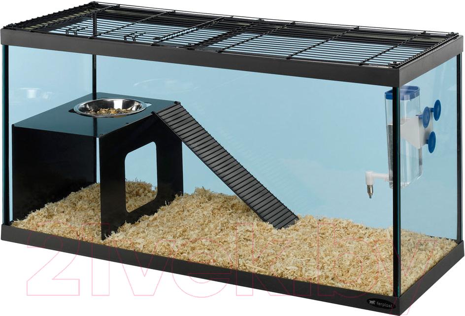 Купить Клетка для грызунов Ferplast, Itaca / 57057217, Италия, черный
