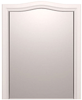 Зеркало интерьерное Ижмебель Лукреция 7 (белый глянец с порами/белая глянцевая пленка) -