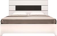 Двуспальная кровать Ижмебель Танго 5 с латами 160 -