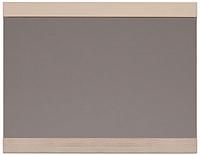 Зеркало интерьерное Ижмебель Вива 7 (невис/капучино глянцевый/белая глянцевая пленка) -