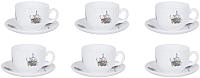 Набор для чая/кофе Luminarc Flore P6886 -