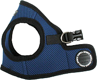 Шлея Puppia Soft Vest / PAHA-AH305-RB-L (синий) -