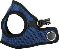 Шлея Puppia Soft Vest / PAHA-AH305-RB-XS (синий) -