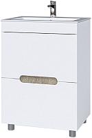 Тумба под умывальник Мебель-КМК Ниагара 620 / КМК 0642.12 -