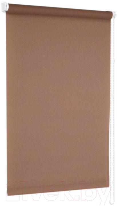 Купить Рулонная штора Delfa, Сантайм Роял СРШ-01М 2880 (68x215, какао), Беларусь, ткань
