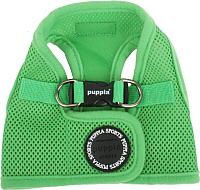 Шлея Puppia Soft Vest / PAHA-AH305-GR-M (зеленый) -