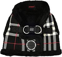 Шлея-жилетка для животных Puppia Dean Harness B / PASD-HB1657-BK-S (черный) -