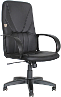 Кресло офисное King Style KP 37 (экокожа, черный) -