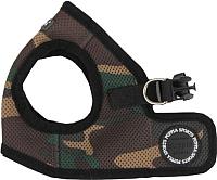 Шлея Puppia Soft Vest / PAHA-AH305-CA-XS (камуфляж) -