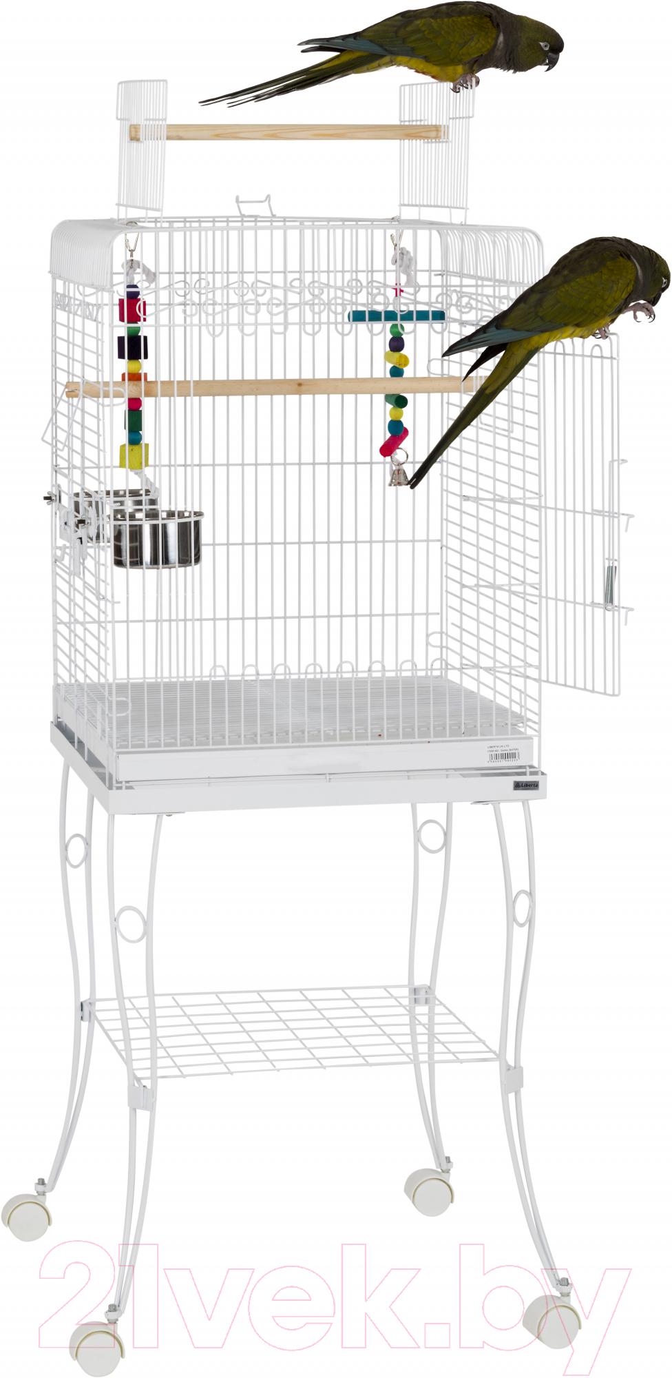 Купить Клетка для птиц Sky Pet, Liberta Gama / 5780/SK (белый), Великобритания