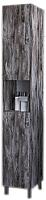 Шкаф-пенал для ванной Аква Родос Агата R/L / ОР0002306 (серый дуб) -