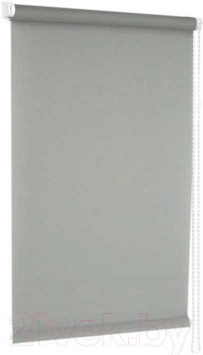 Купить Рулонная штора Delfa, Сантайм Роял СРШ-01М 2816 (43x170, серый), Беларусь, ткань