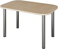 Обеденный стол Senira Р-001 (аламбра светлая/хром) -