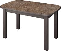 Обеденный стол Senira Р-02.06 (аламбра темная/венге) -