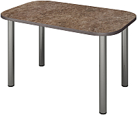 Обеденный стол Senira Р-001-02 (аламбра темная/хром) -