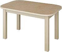 Обеденный стол Senira Р-02.06-01 (аламбра светлая/клен) -
