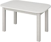 Обеденный стол Senira Р-02.06-01 (белый глянец/белый) -