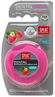 Зубная нить Splat Professional объемная с ароматом клубники (30м) -