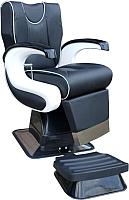 Кресло парикмахерское Kuasit Ku 450 (черный/белый) -