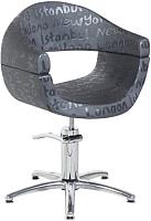 Кресло парикмахерское Kuasit Ku 120/h (черный) -