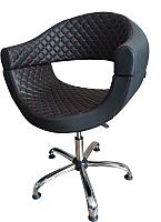 Кресло парикмахерское Kuasit Ku 120 (черный) -