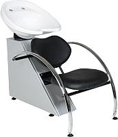 Мойка парикмахерская с креслом Kuasit Ku 240 (черный) -