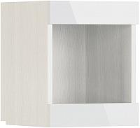 Полка МСТ. Мебель Белла №16 (рамух белый) -