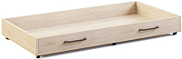 Ящик выкатной МСТ. Мебель Оливия №17 (дуб сонома светлый) -