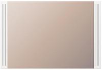 Зеркало интерьерное Ижмебель Виктория 7 (белый глянец с порами/белая глянцевая пленка) -