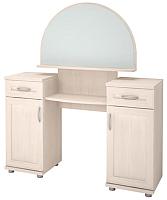 Туалетный столик с зеркалом Ижмебель Ника-Люкс 14Р (бодега) -