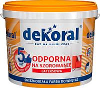 Краска Dekoral Акрилит W Plus (3л, снежно-белый) -