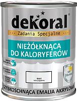 Эмаль Dekoral Для калориферов (750мл, снежно-белый) -