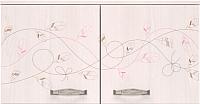 Антресоль Ижмебель Принцесса 2 (лиственница сибиу) -