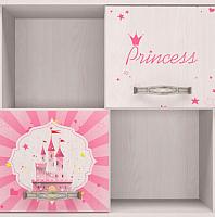 Шкаф навесной Ижмебель Принцесса 10 (лиственница сибиу) -