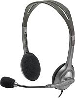 Наушники-гарнитура Logitech Stereo Headset H110 (981-000271) -