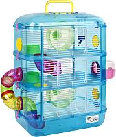 Клетка для грызунов Sky Pet Little Zoo Fantasia 3 / 4883/31003A (голубой) -