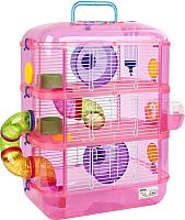Клетка для грызунов Sky Pet Little Zoo Fantasia 3 / 4883P/31003A (розовый) -