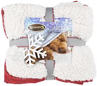 Подстилка для животных Scruffs Winter Snuggle / 936396/WN (бордовый/белый) -