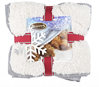 Подстилка для животных Scruffs Winter Snuggle / 936396/GR (серый/белый) -