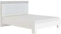 Каркас кровати МСТ. Мебель Белла №1.3 160x200 (с мягкой спинкой) -