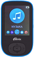 MP3-плеер Ritmix RF-5100BT (8Gb, черный/синий) -