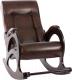 Кресло-качалка Импэкс Комфорт 44 (без лозы, венге/Antik Crocodile) -