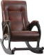 Кресло-качалка Импэкс Комфорт 44 (венге/antik crocodile) -